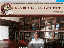 Tablet Preview of crossroadsbi.org